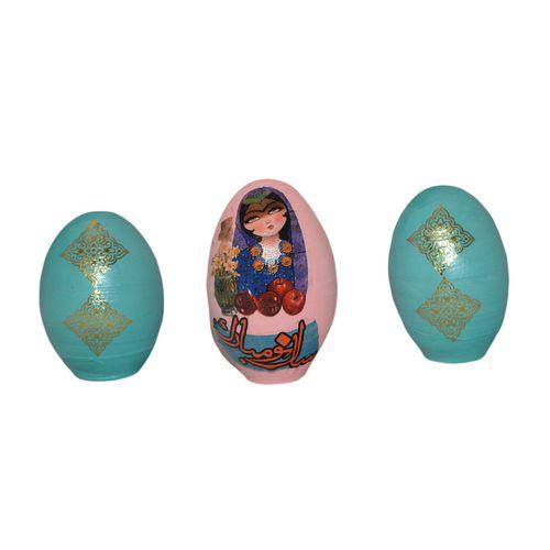 تخم مرغ تزیینی مدل a352 مجموعه 3 عددی