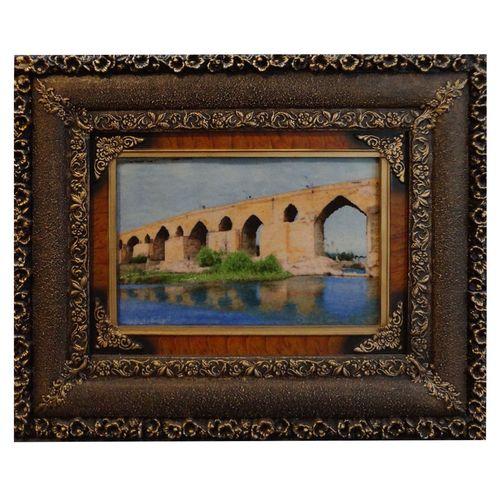 تابلوفرش دستباف طرح پل قدیم دزفول دژپل ساسانی  کد 157156
