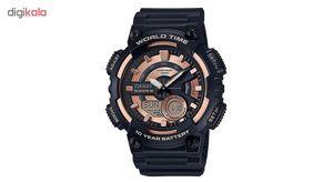 ساعت مچی عقربه ای مردانه کاسیو مدل AEQ-110W-1A3VDF