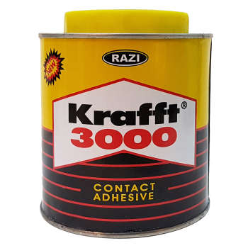 چسب آهن رازی مدل Krafft 3000 حجم 1 لیتر