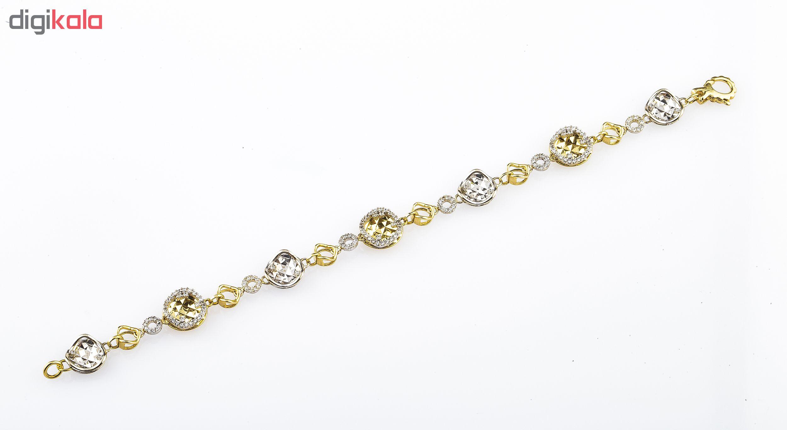 دستبند طلا 18 عیار کد B120