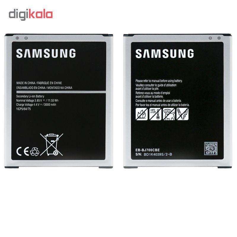 باتری موبایل مدل J700 ظرفیت 3000 میلی آمپر ساعت مناسب برای گوشی موبایل GALAXY J7 main 1 2