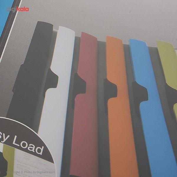 کاور کاغذ A4 دلی مدل Twin Color E38964  - با گیره متحرک main 1 7