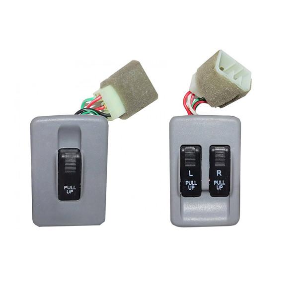 کلید شیشه بالابر دیالکو  مدل RADFAR 5964 مناسب برای پراید صبا بسته دو عددی