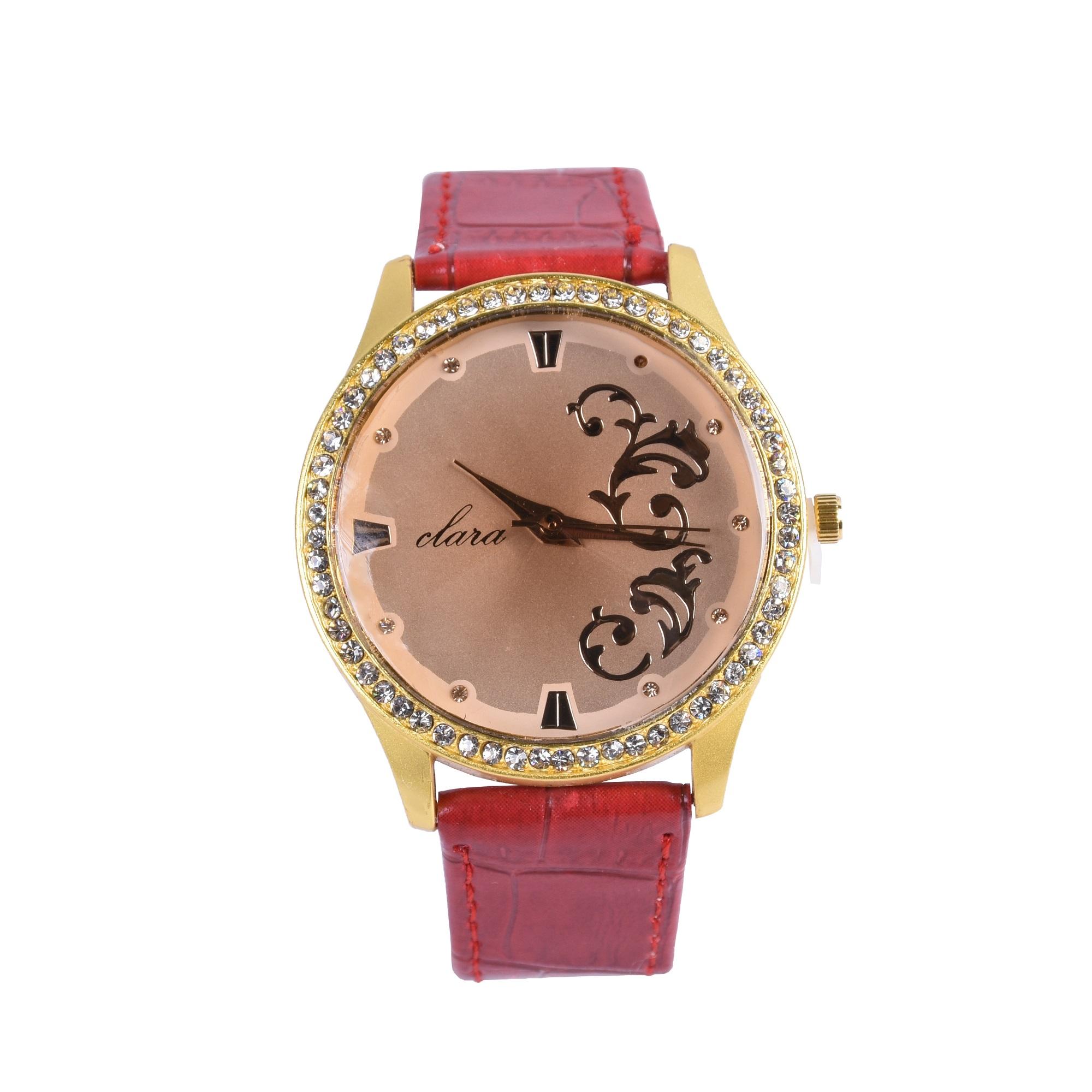 ساعت مچی عقربه ای زنانه کلارا  مدل 1