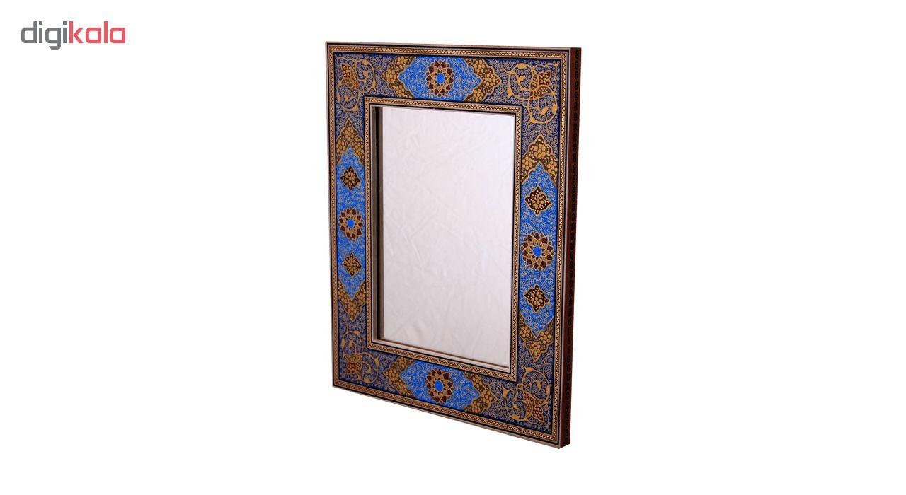 خرید                      قاب آینه خاتم کاری کد 2-70175