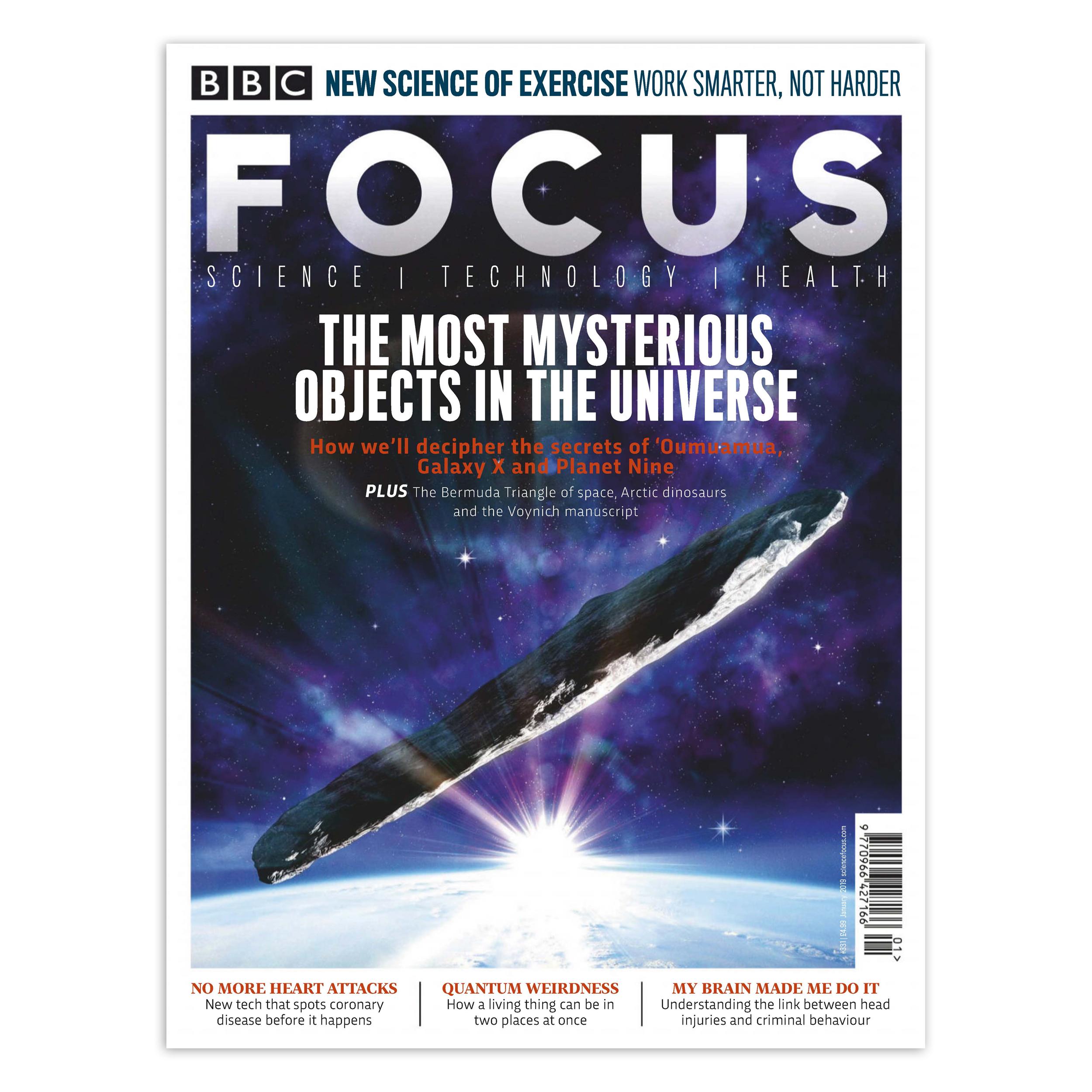 مجله BBC Focus - ژانویه 2019