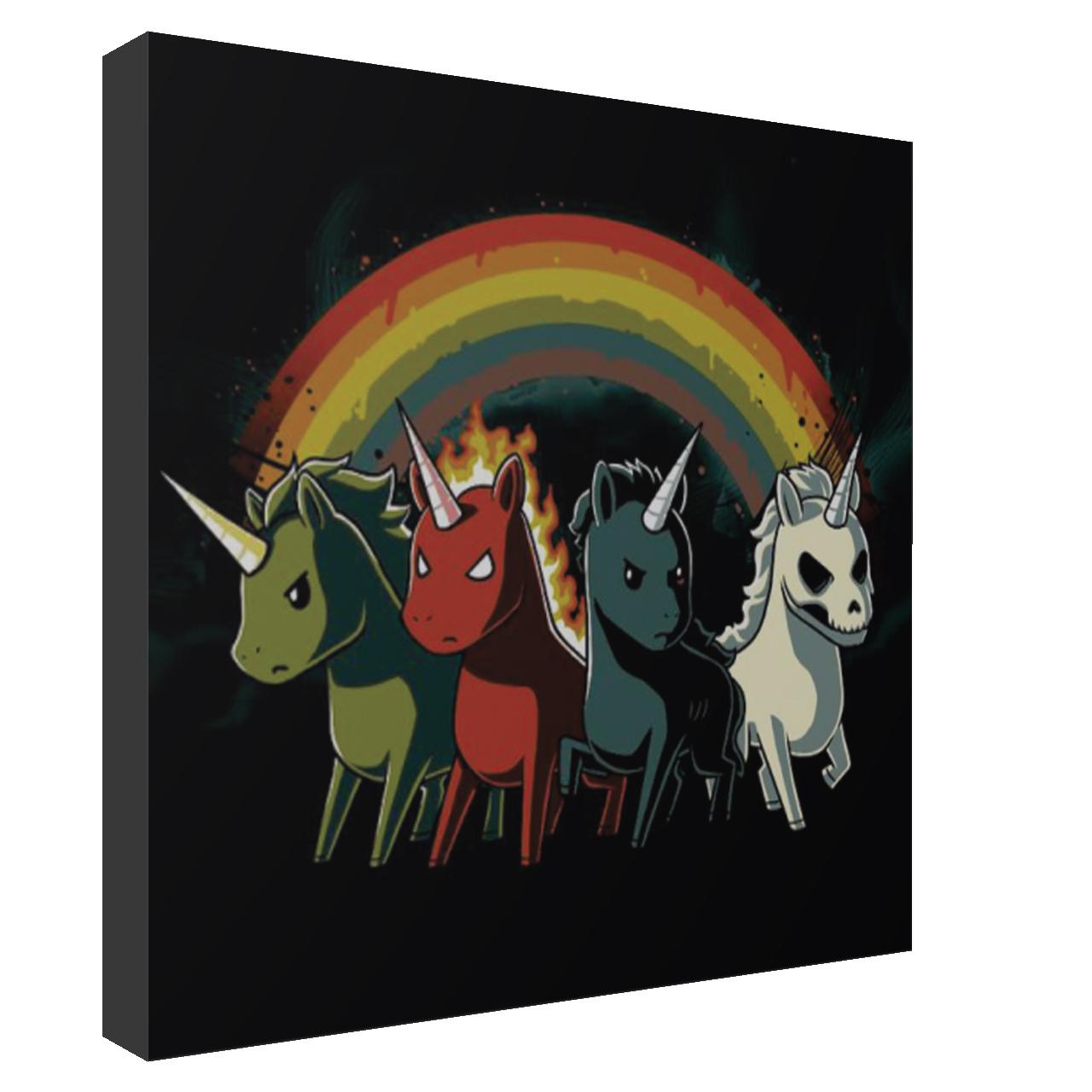 استیکر اسب تک شاخ مدل Unicorn 32