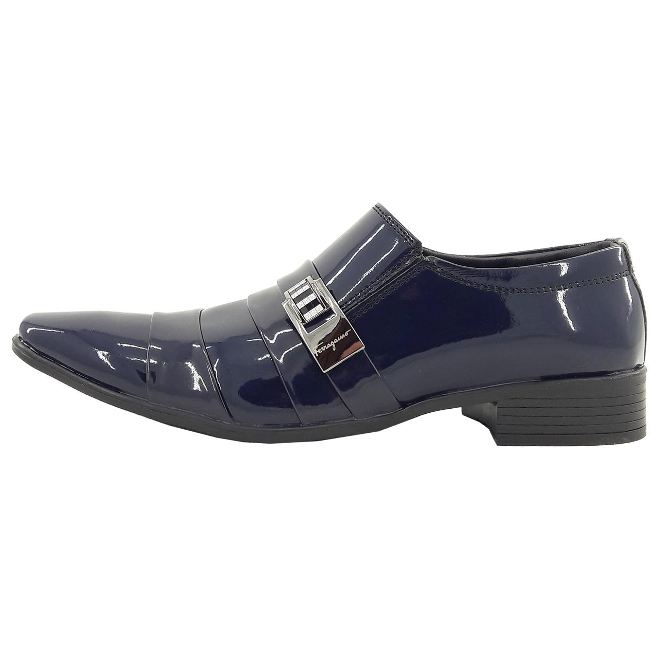 کفش مردانه فیو گاما مدل Mhrd.nvy.f.01