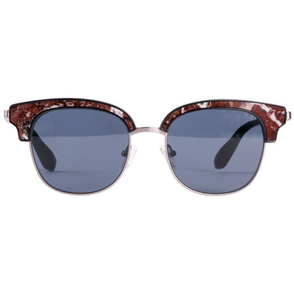 عینک آفتابی راکسلین مدل Aron Rosso Levanto Marble