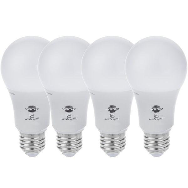 لامپ ال ای دی 10 وات پارس شهاب پایه E27
