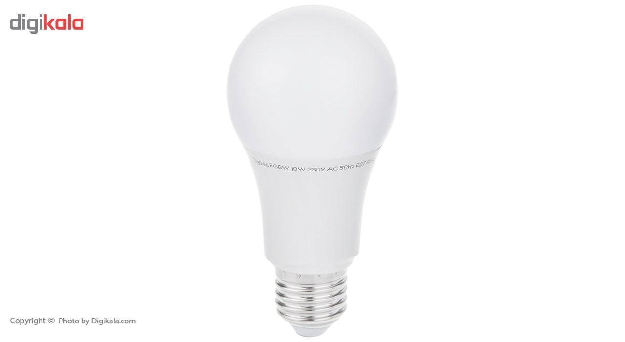لامپ ال ای دی 10 وات پارس شهاب ریموتی پایه E27 بسته 4 عددی