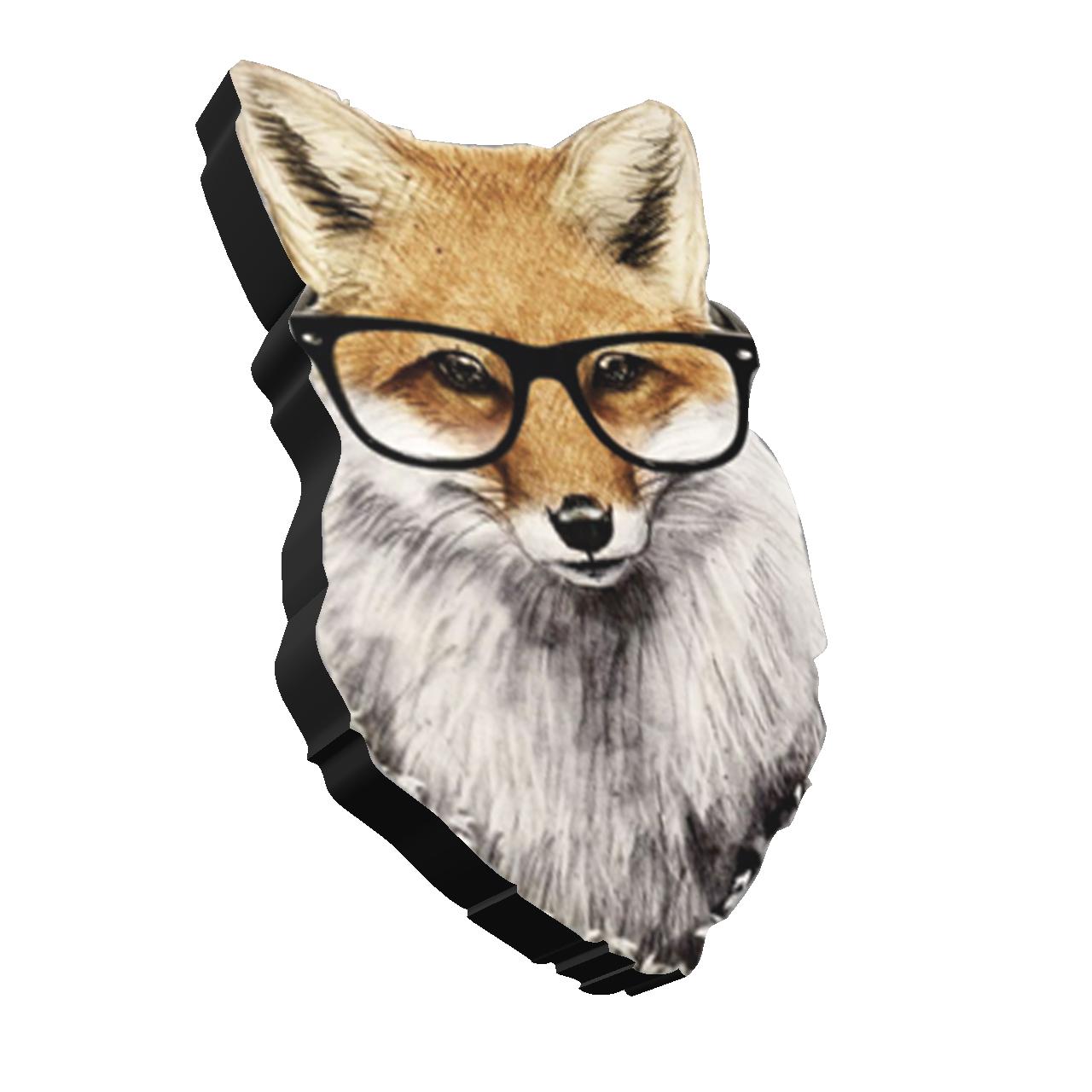 استیکر طرح روباه کد 3