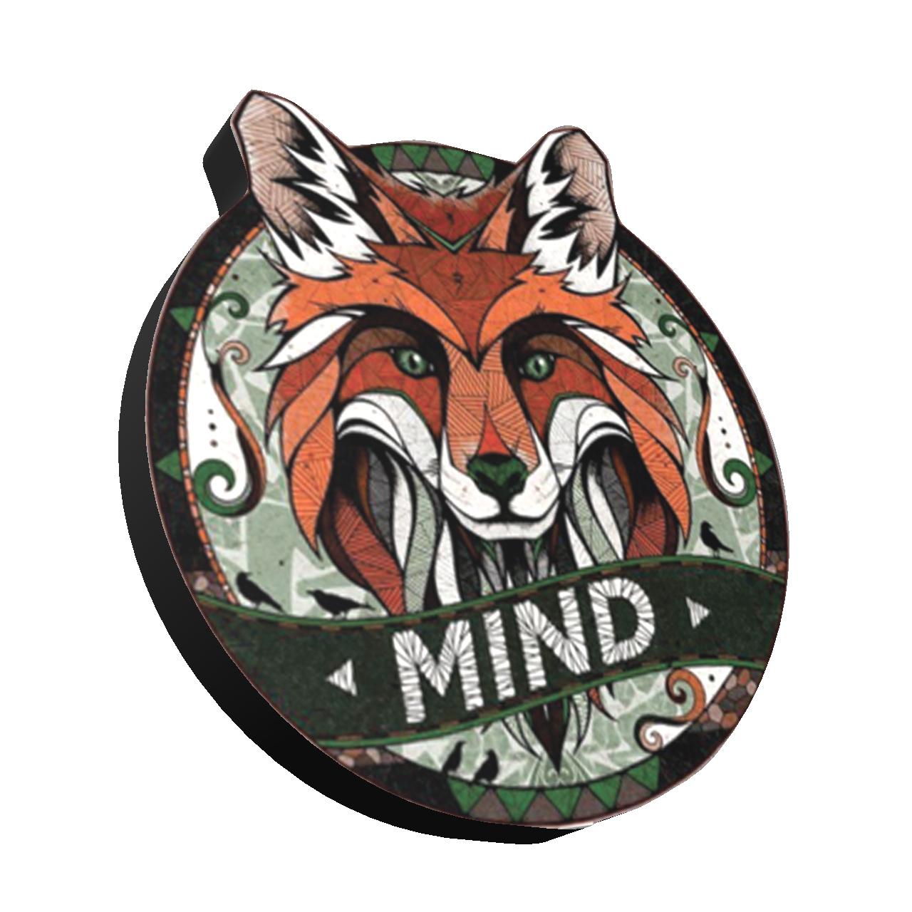 استیکر طرح روباه کد 4