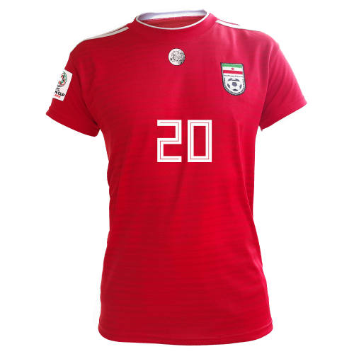 پیراهن ورزشی طرح سردار آزمون HOME18-19