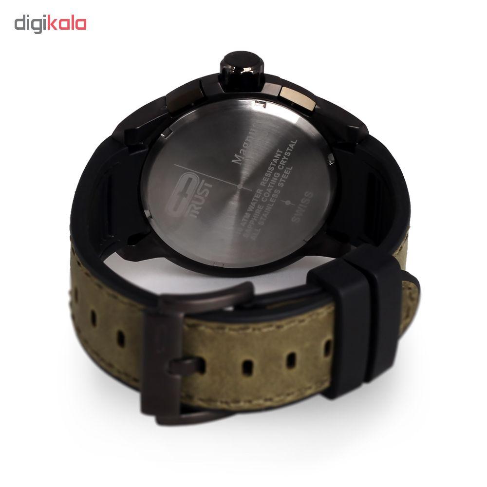 ساعت مچی عقربه ای مردانه تراست مدل G482FQD