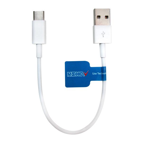 کابل تبدیل USB به USB-C مکا مدل MCU25 طول 0.2 متر