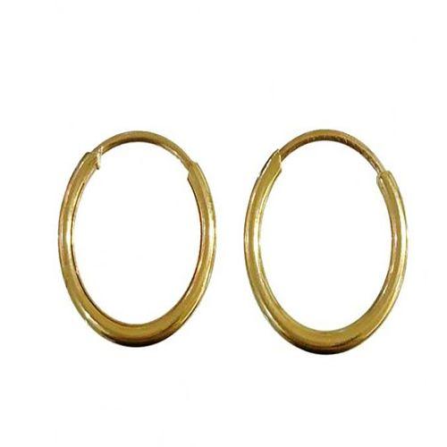 گوشواره طلا 18 عیار گيرا گالرى مدل حلقه