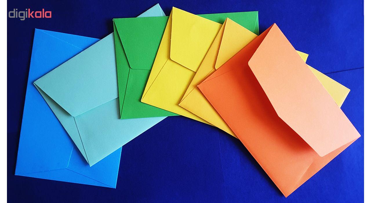 پاکت کارت ستوده کد EC014بسته 12 عددی