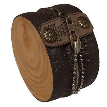 کیف هندزفری طرح چوب مدل K3