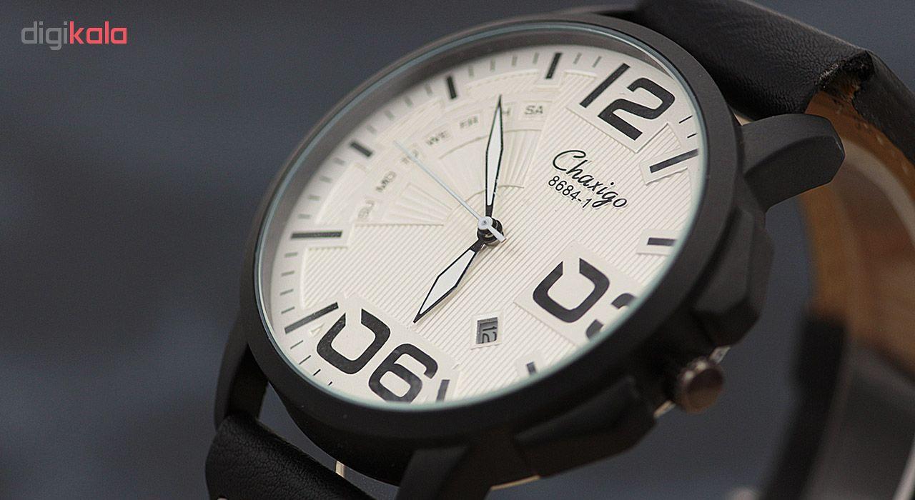 ساعت مچی عقربه ای چاکسیگو مدل CH2125