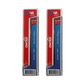 نوک مداد نوکی اونر کد O-4  قطر 0.7 میلی متر  بسته 2 عددی