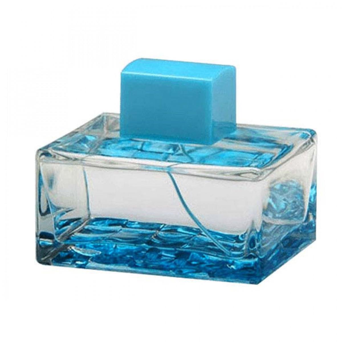 ادوتویلت زنانه آنتونیو باندراس مدل Splash Blue Seduction حجم 100 میلی لیتر
