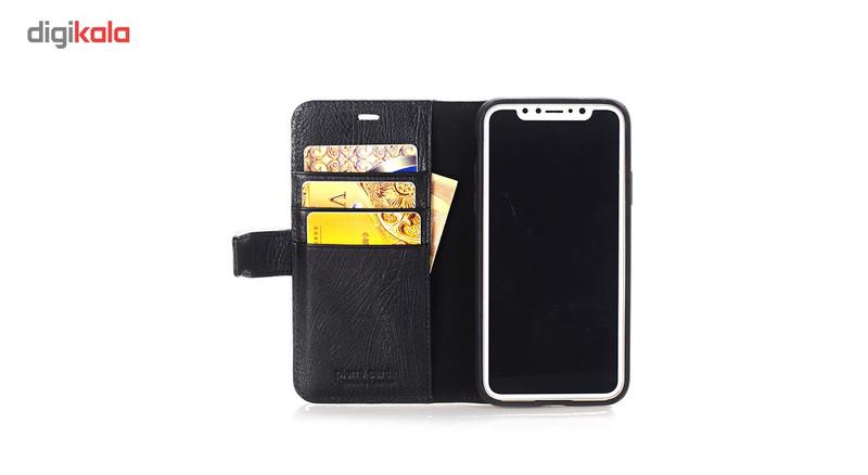 کیف پول پیرکاردین مدل PCL-P05 مناسب برای گوشی آیفونX