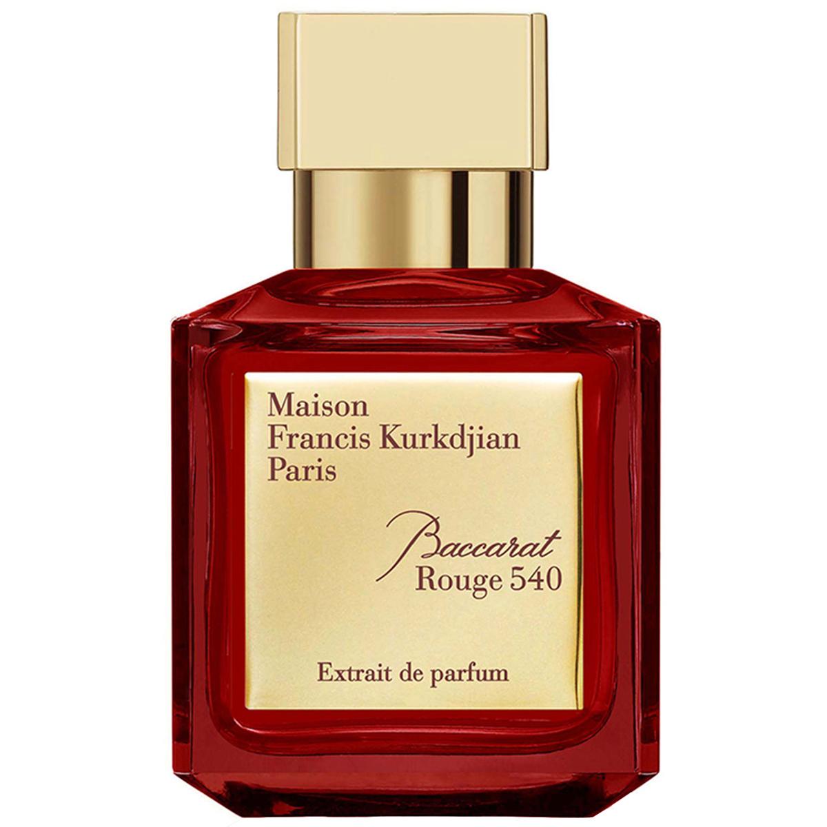 پرفیوم میسون فرانسیس کورکجان مدل Baccarat Rouge 540 Extrait de Parfum حجم 70 میلی لیتر