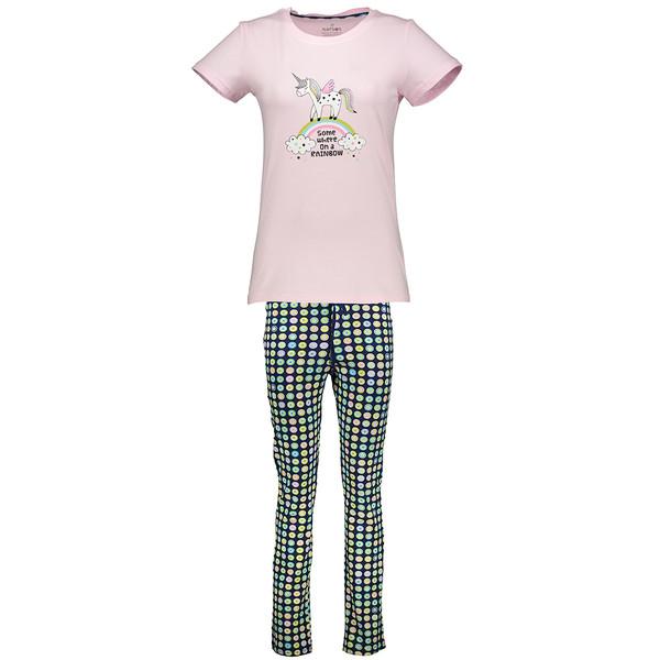 ست تی شرت و شلوار راحتی زنانه ناربن مدل 1521118-84