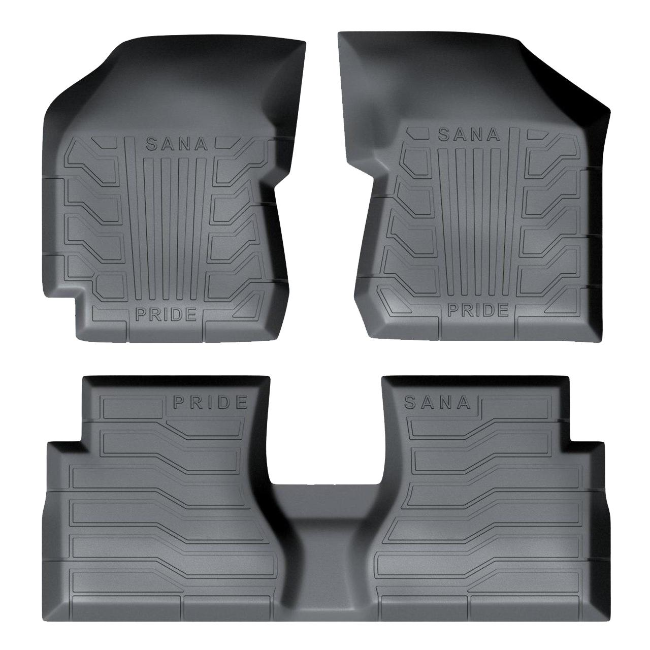 کفپوش سه بعدی خودرو سانا طرح 2 مناسب برای پراید