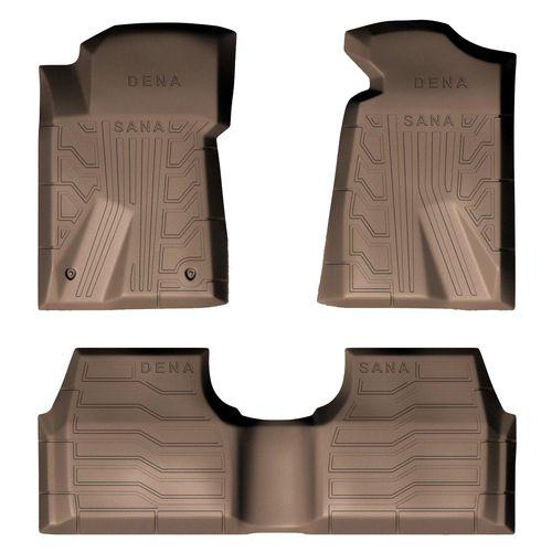 کفپوش سه بعدی خودرو سانا طرح 2 مناسب برای دنا