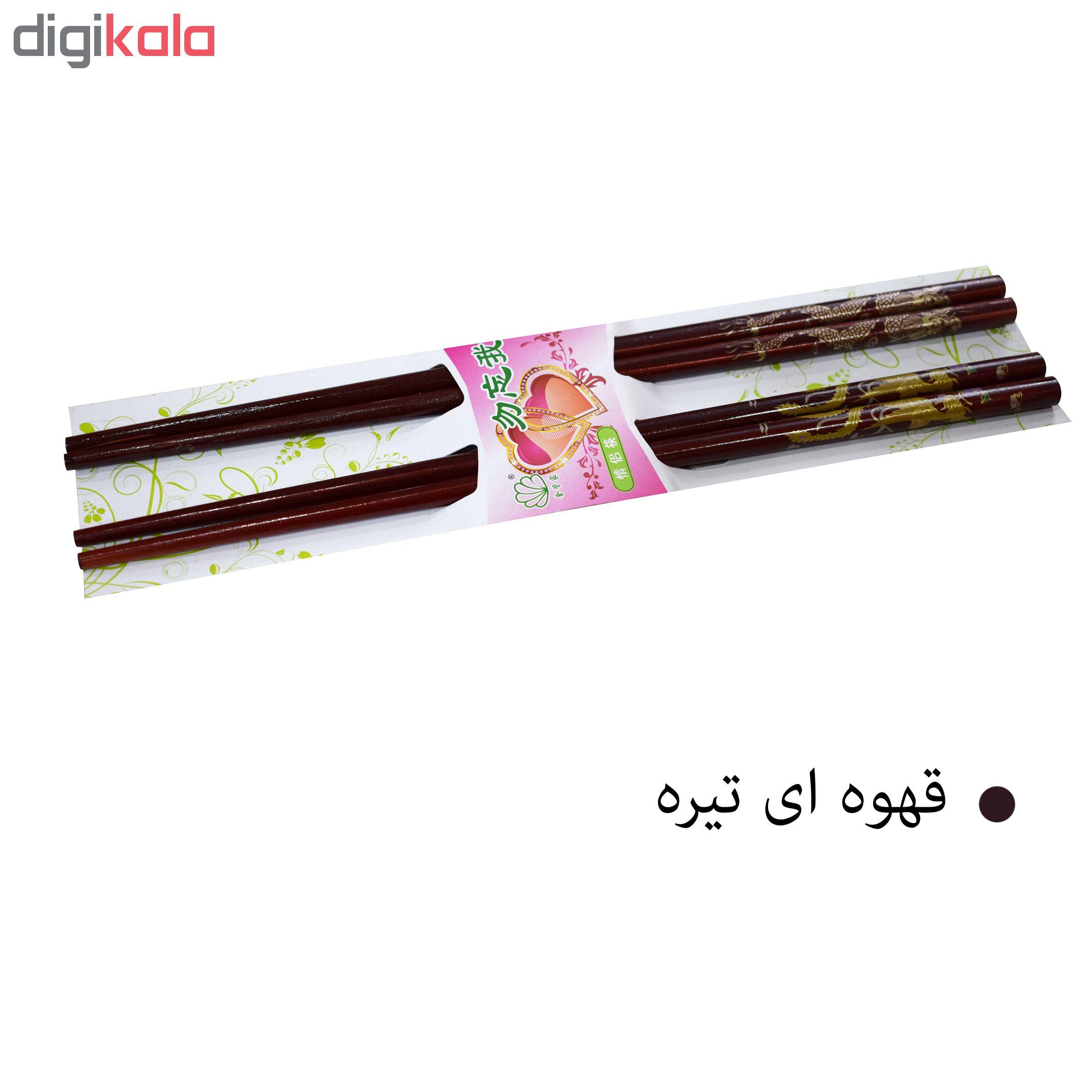 چوب غذاخوری چاپستیک مدل 001