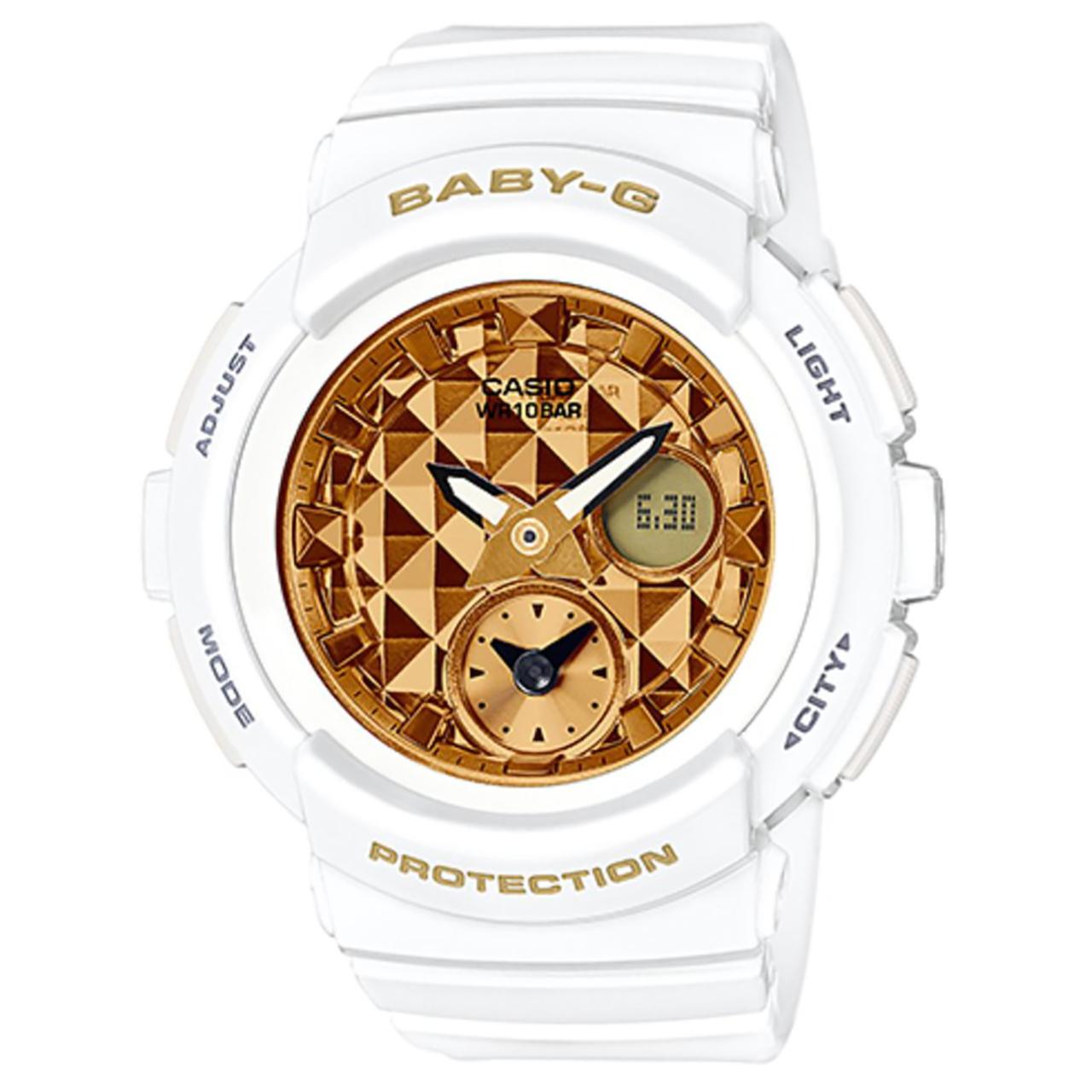 ساعت مچی عقربه ای زنانه کاسیو مدل BGA-195M-7ADR 57