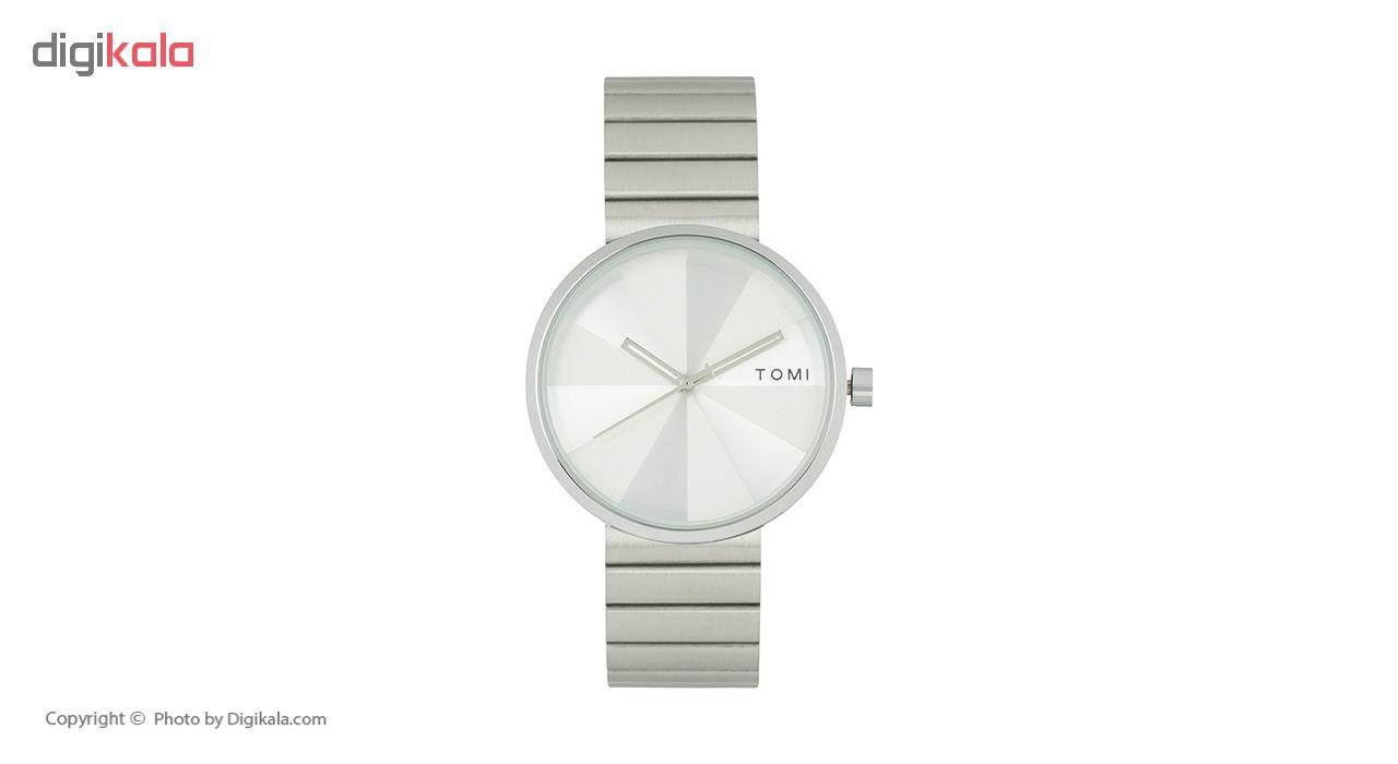 خرید ساعت مچی عقربه ای مردانه تامی مدل 011 رنگ نقره ای