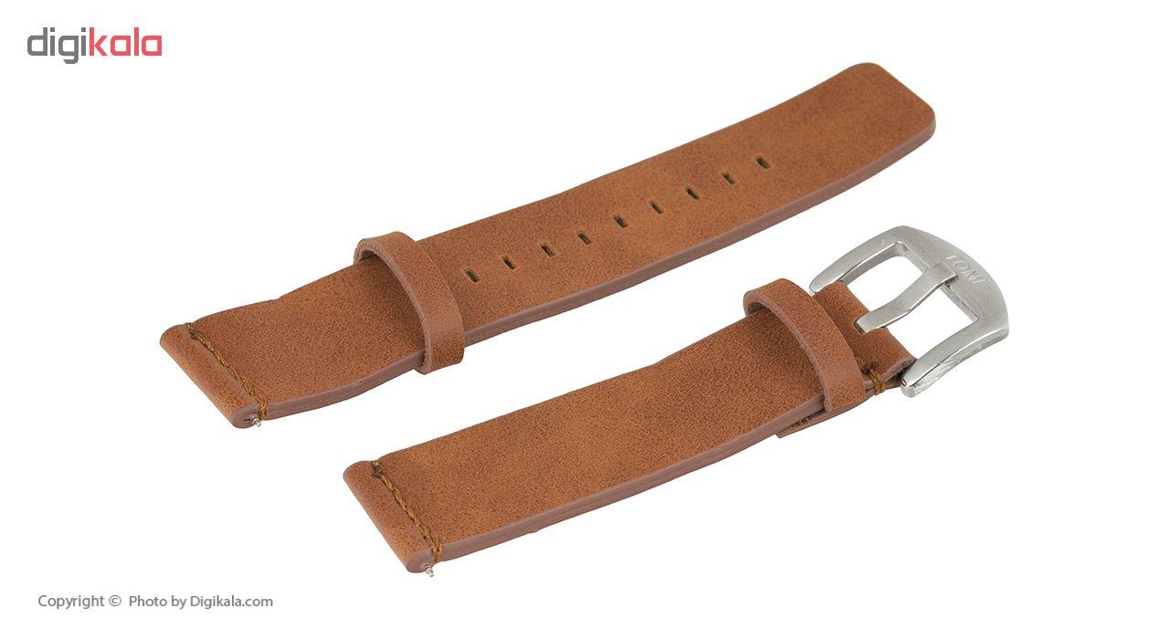 ساعت مچی عقربه ای مردانه تامی مدل 011 رنگ نقره ای
