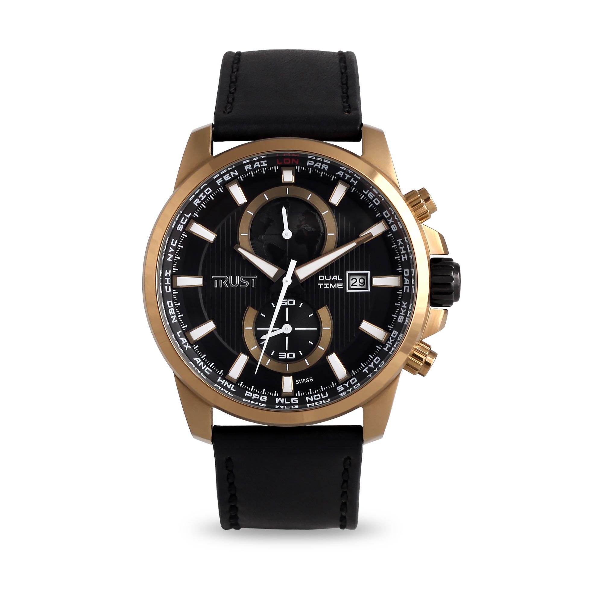ساعت مچی عقربه ای مردانه تراست مدل G498IVD