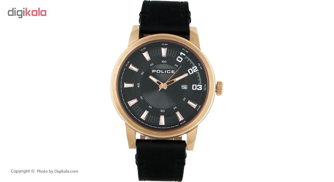 خرید ساعت مچی عقربه ای مردانه پلیس مدل P14375JSR-02