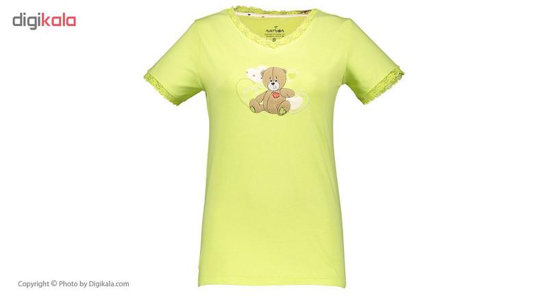 ست تی شرت و شلوار راحتی زنانه ناربن مدل 1521123-40