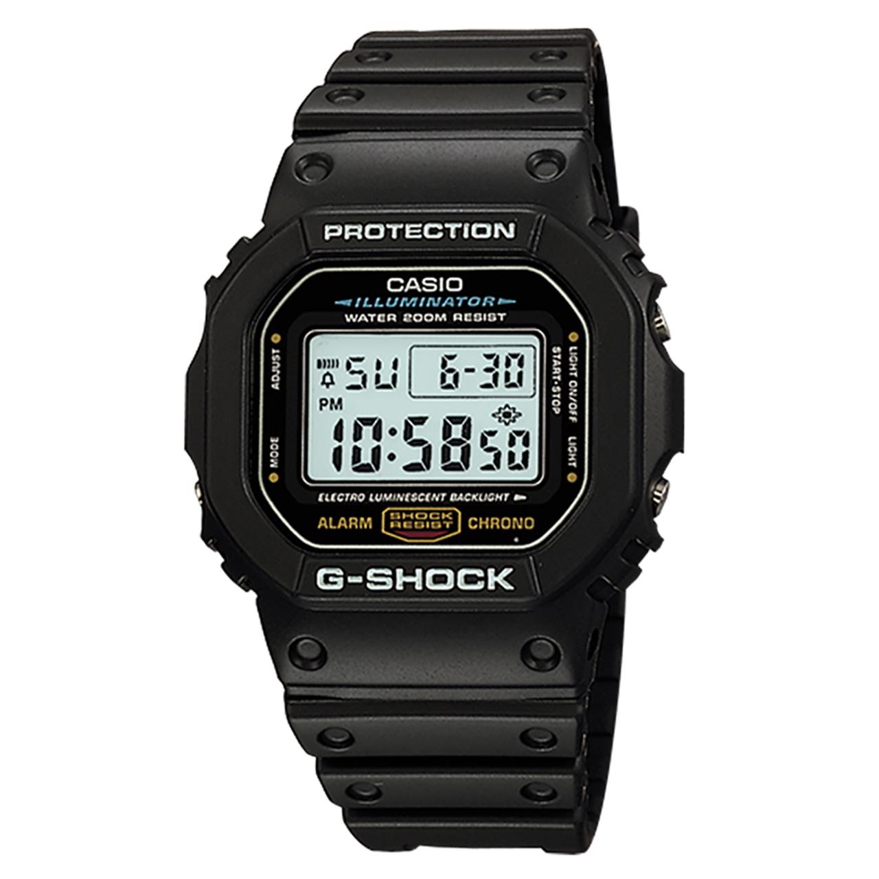 ساعت مچی دیجیتالی کاسیو جی شاک مدل DW-5600E-1VDF