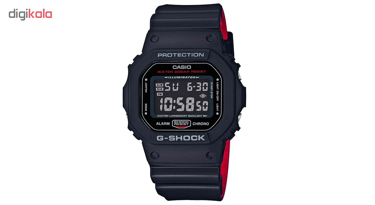 ساعت مچی دیجیتالی کاسیو جی شاک مدل DW-5600HR-1DR             قیمت