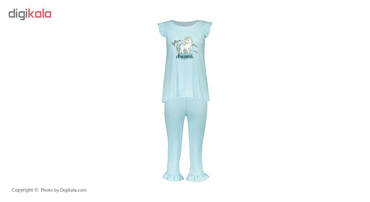خرید                                      ست تی شرت و شلوار راحتی زنانه ناربن مدل 1521146-54