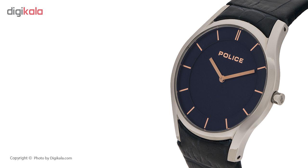 ساعت مچی عقربه ای مردانه پلیس مدل P14722JSG-04