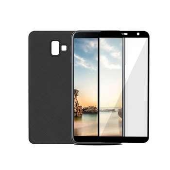 کاور سومگ مدل SC-i001 مناسب برای گوشی موبایل سامسونگ گلکسی J6 Plus به همراه محافظ صفحه نمایش