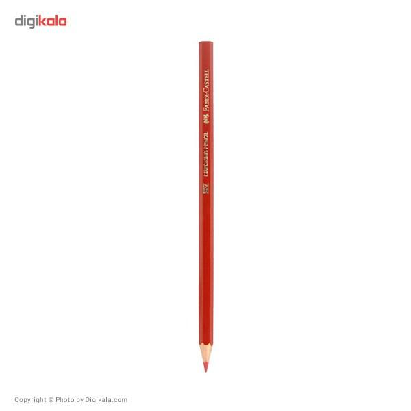 مداد قرمز فابر-کاستل بسته 12 عددی main 1 2