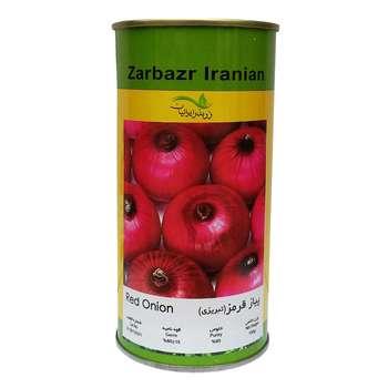 بذر پیاز قرمز زر بذر ایرانیان کد GH100g-52
