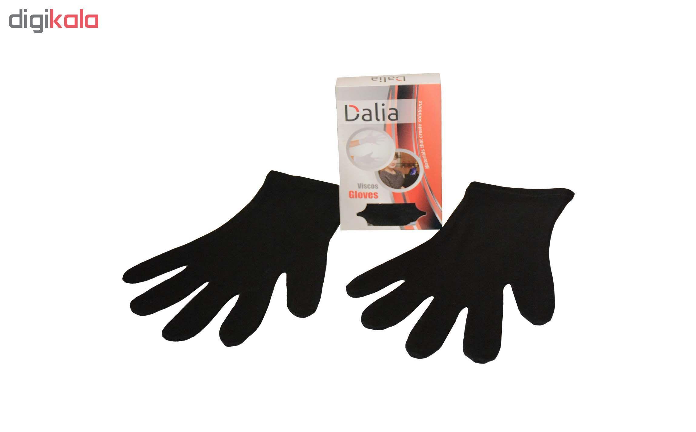 دستکش نخی ضد حساسیت دالیا مدل viscose1 main 1 2
