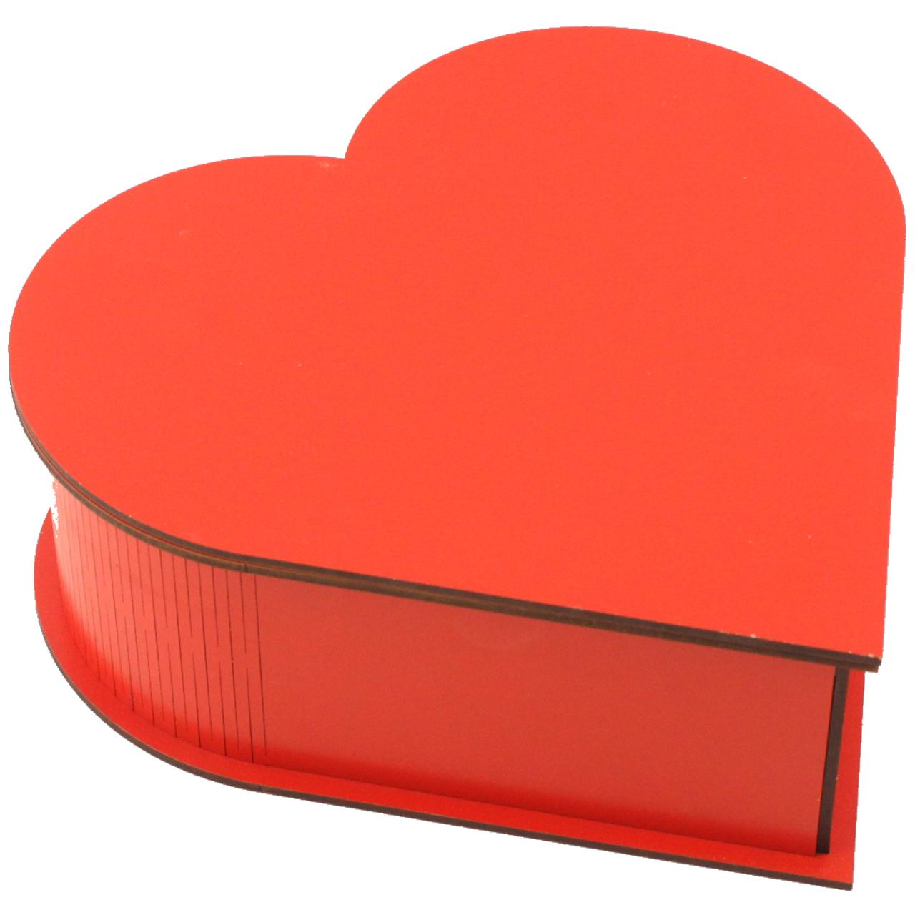 جعبه هدیه قلبی