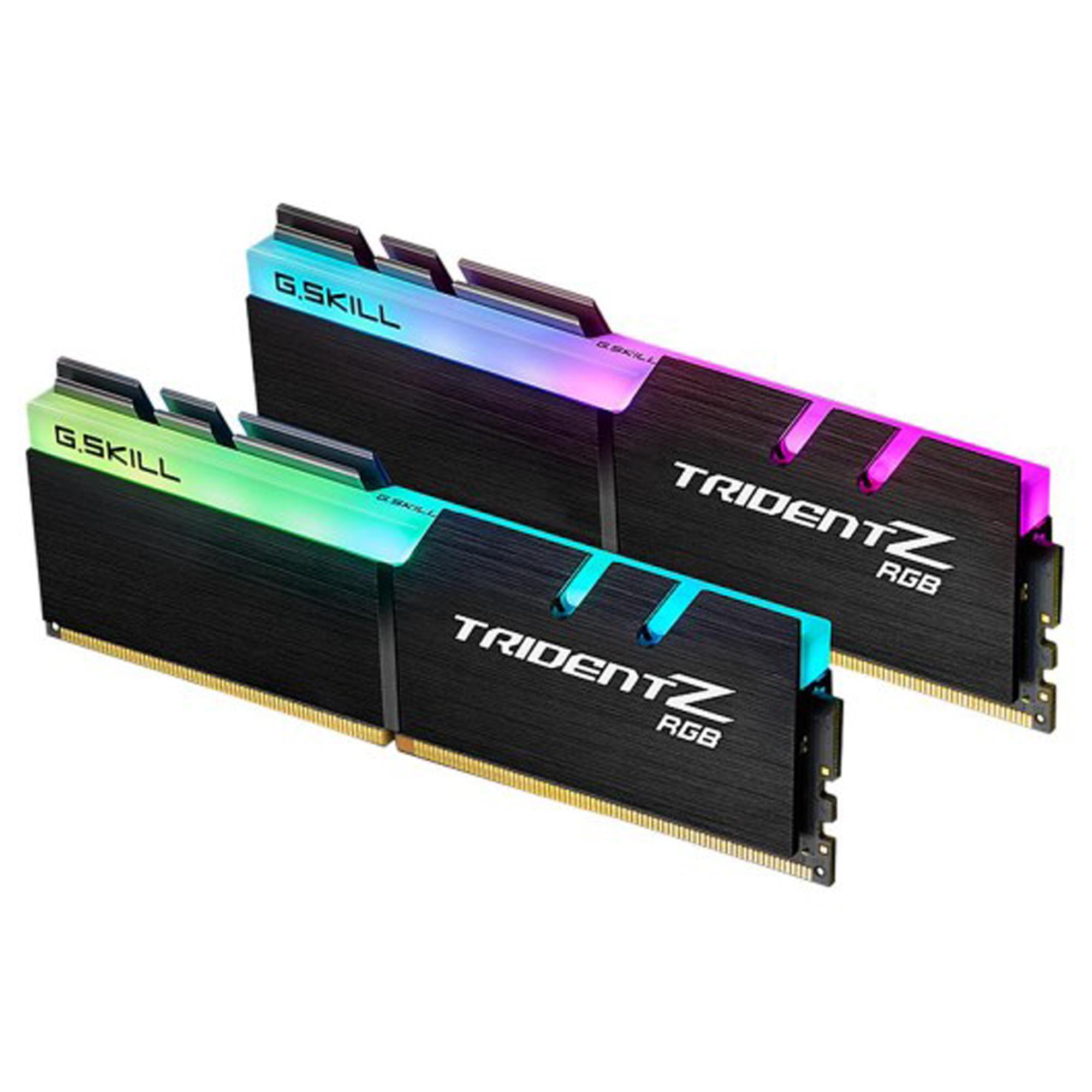 رم دسکتاپ DDR4 دو کاناله 3000 مگاهرتز CL16 جی اسکیل سری TRIDENT Z RGB ظرفیت 32 گیگابایت بسته دو عددی