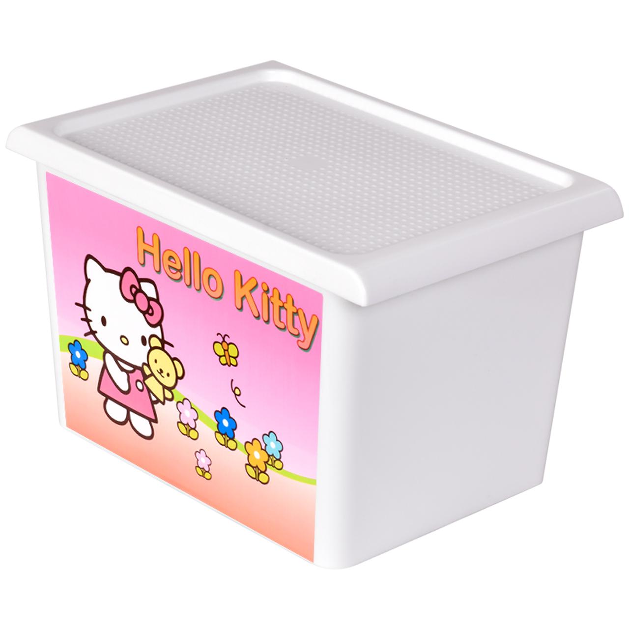 جعبه اسباب بازی کودک مهروز مدل DOP-HELLO KITTY